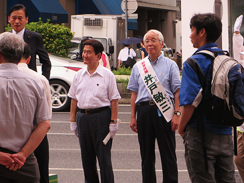 7月4日(木)神戸三宮センター街...